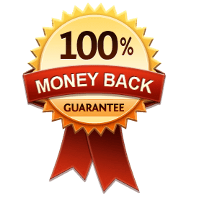 Satisfaction guaranteed or money back