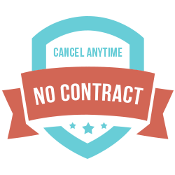 No contract. Cancel anytime.